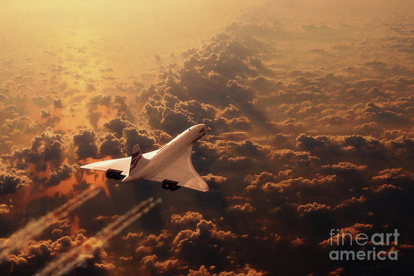 Wall Art - Digital Art - Queen Of The Skies by J Biggadike