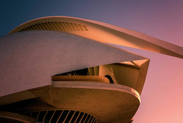Photograph - Abstract Architecture Valencia Spain by Joan Carroll