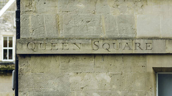 Photograph - Queen Square Carved In The Stone B by Jacek Wojnarowski