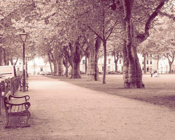Photograph - Queen Square Path Bristol England by Jacek Wojnarowski