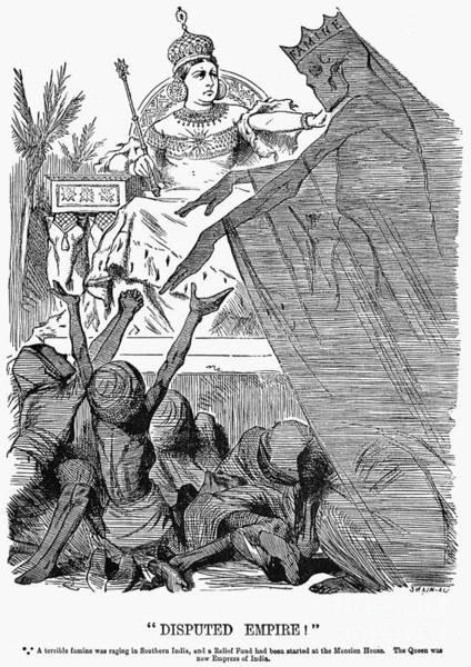 Drawing - Queen Victoria Cartoon by Granger