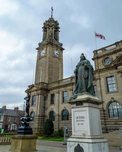 Photograph - Queen Victoria Monument Outside South Shields Town Hall by Jacek Wojnarowski
