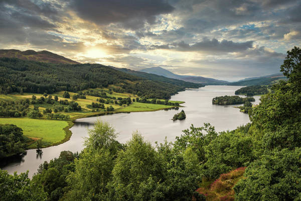 Photograph - Queen's View by Dave Bowman