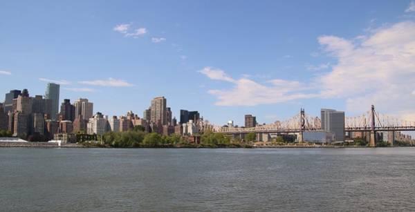 Roosevelt Island Wall Art - Photograph - Queensboro Bridge And New York City by Karen Silvestri