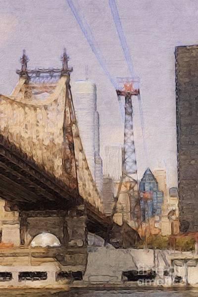 Roosevelt Island Wall Art - Photograph - Queensboro Bridge by Marcia Lee Jones