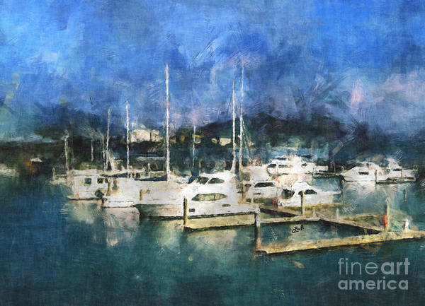 Photograph - Queensland Marina by Claire Bull