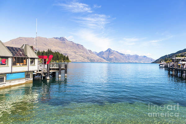 Photograph - Queenstown Jetty On Lake Wakatipu In New Zealand by Didier Marti
