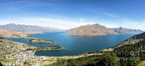 Photograph - Queenstown Panorama In New Zealand by Didier Marti