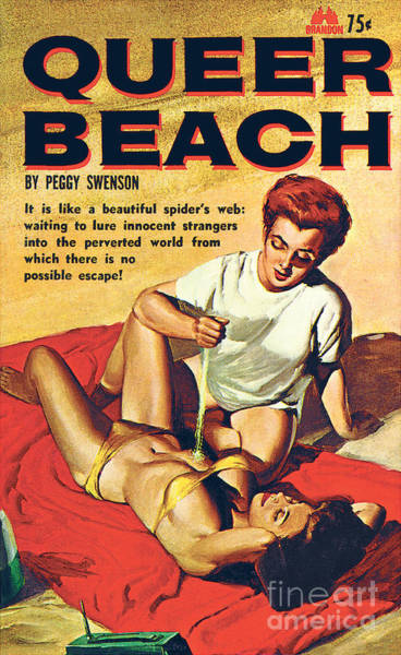 Painting - Queer Beach by Unknown Artist