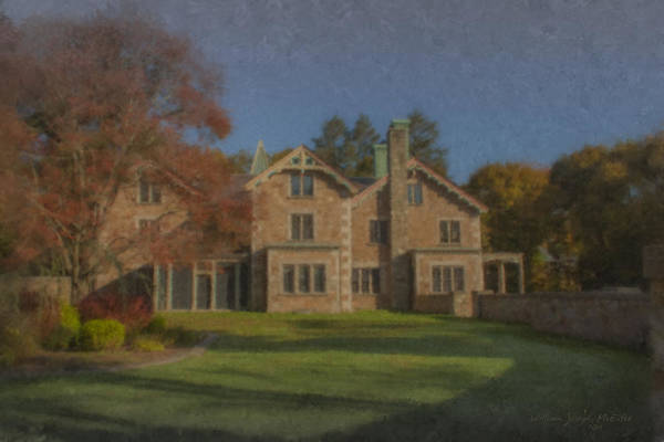 Painting - Quest House Garden by Bill McEntee