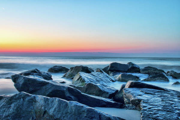 Photograph - Quiet Beach Haven Morning II by Kristia Adams