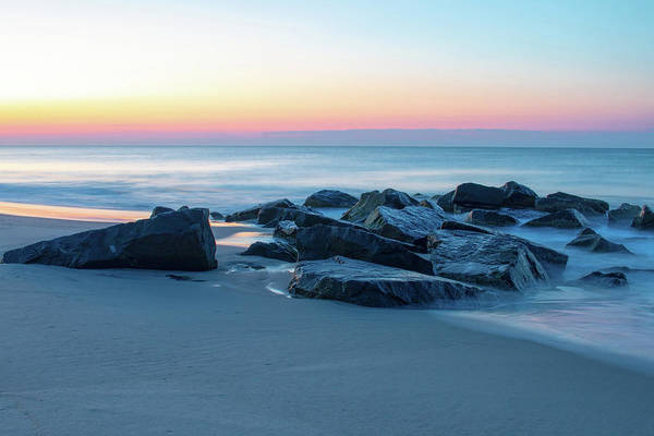 Photograph - Quiet Beach Haven Morning by Kristia Adams