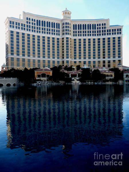 Bellagio Hotel Photograph - Quiet Bellagio by David Bearden