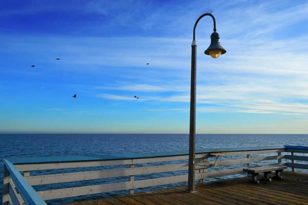 Photograph - Quiet Day At San Clemente Pier by Glenn McCarthy Art and Photography
