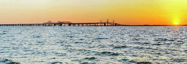 Wall Art - Photograph - Quiet Day On The Bay Pano by Brian Wallace