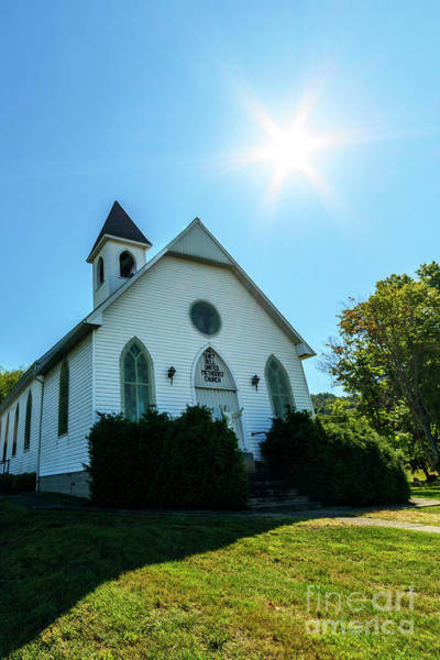 Photograph - Quiet Dell United Methodist Church by Thomas R Fletcher