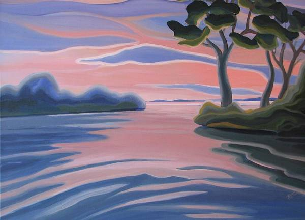 Painting - Quiet Evening by Barbel Smith