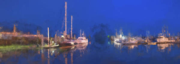 Digital Art - Quiet Harbor II by Jon Glaser