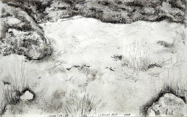 Quiet Hill Art Print