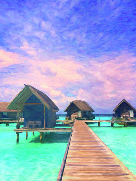 Wall Art - Painting - Quiet Lagoon by Dominic Piperata