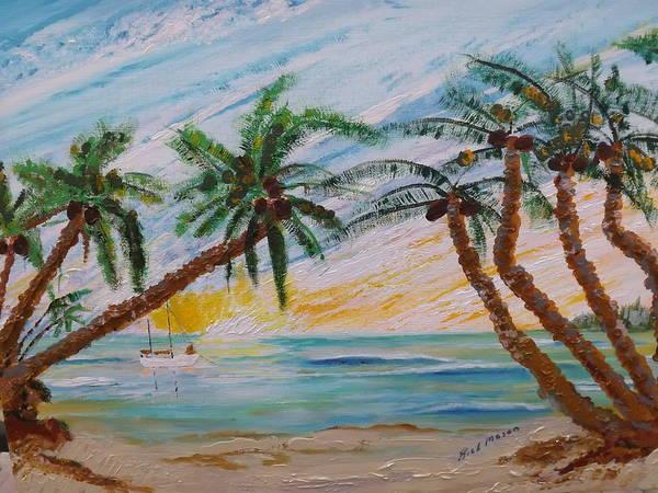 Wall Art - Painting - Quiet Lagoon by Rich Mason