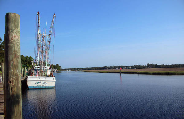 Photograph - Quiet Morning At The Dock by Cynthia Guinn