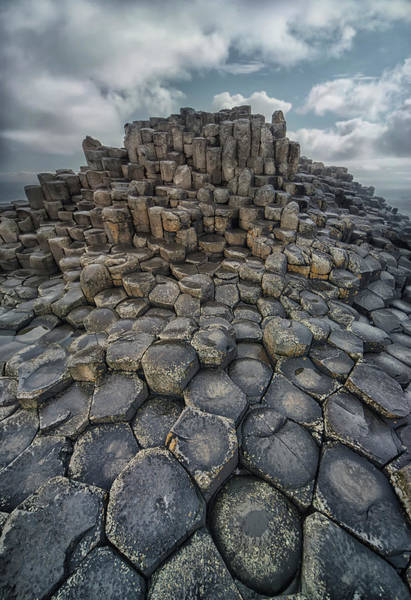Photograph - Quiet Morning Giant's Causeway by Jaroslaw Blaminsky