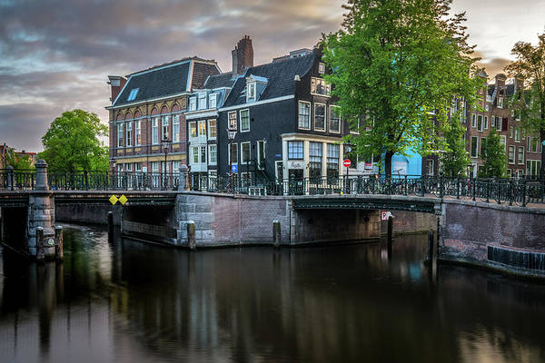 Photograph - Quiet Morning In Amsterdam by James Udall