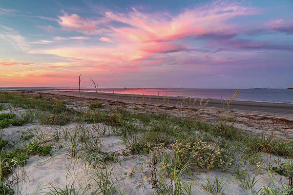 Photograph - Quiet Morning On Sullivan's Island, Sc by Donnie Whitaker
