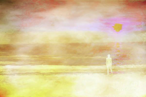 Wall Art - Digital Art - Quiet Morning On The Beach by Randy Steele