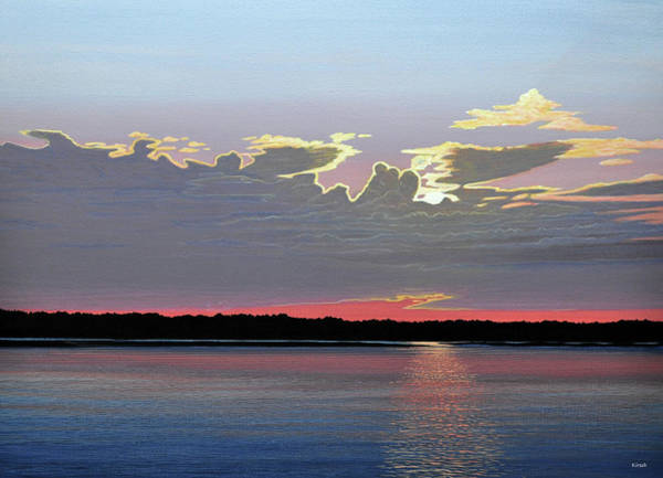 Painting - Quiet Reflection II by Kenneth M Kirsch