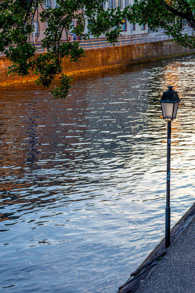 River Ill Wall Art - Photograph - Quiet River At Sunset by W Chris Fooshee