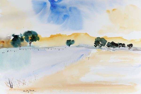 Painting - Summertime by Dorothy Darden