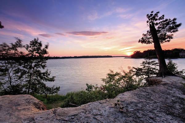 Wall Art - Photograph - Quiet Sunset by Jennifer Casey
