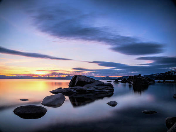 Photograph - Quiet Sunset by Martin Gollery