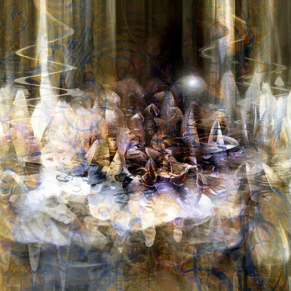 Wall Art - Digital Art -  Quiet Thunder by Linda Sannuti