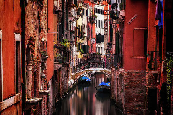 Wall Art - Photograph - Quiet Venice by Andrew Soundarajan