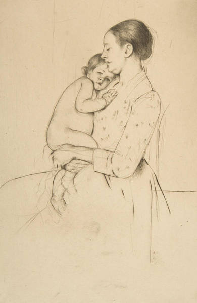 Relief - Quietude by Mary Cassatt