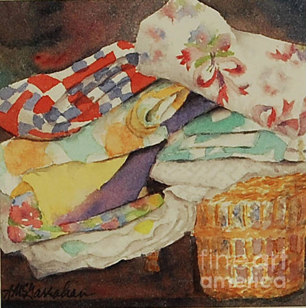 Wall Art - Painting - Quilts Aplenty by Annette McGarrahan