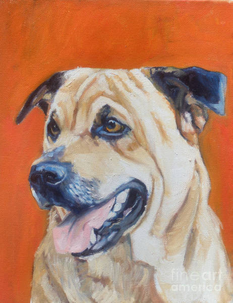 Painting - Quincy by Deb Putnam