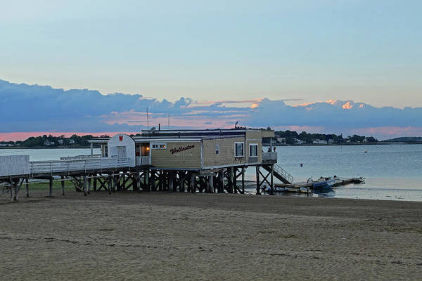 Photograph - Quincy Ma Wollaston Beach Yacht Club by Toby McGuire
