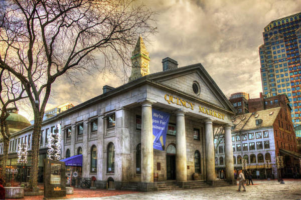 Photograph - Quincy Market - Boston, Ma. by Joann Vitali