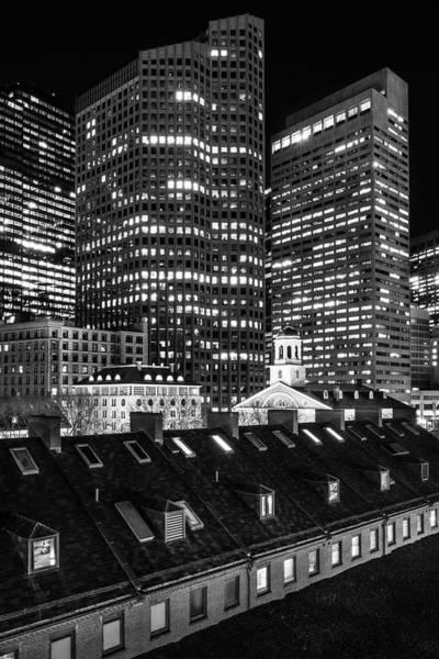 Photograph - Quincy Market Rooftop by Kristen Wilkinson