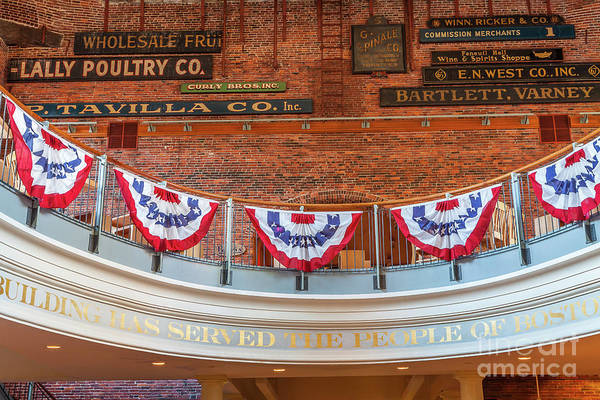 Photograph - Quincy Market Signs by Susan Cole Kelly