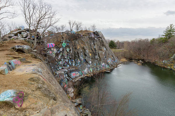 Photograph - Quincy Quarries 12 by Brian MacLean