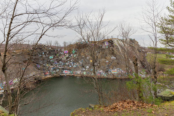 Photograph - Quincy Quarries 18 by Brian MacLean
