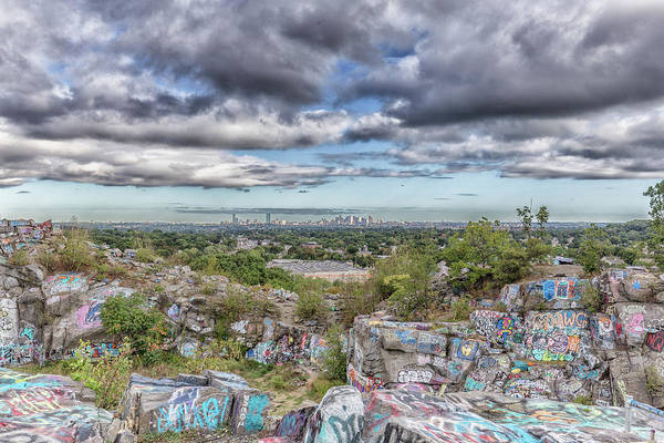Photograph - Quincy Quarries And Boston by Brian MacLean