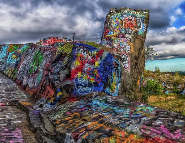 Photograph - Quincy Quarries Graffiti by Brian MacLean