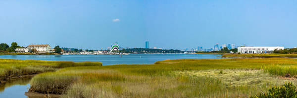 Photograph - Quincy Salt Marsh Panorama by Brian MacLean