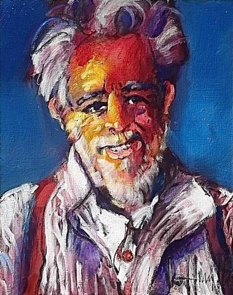 Painting - Quinn's Zorba by Les Leffingwell